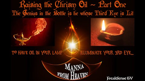 Raising the Chrism Oil ~ A Journey, Part One