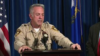 Las Vegas Sheriff Lombardo: No conflict with MGM statement about mass shooting timeline - Video