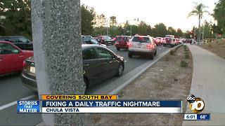 Fixing a daily traffic nightmare in Chula Vista - Video
