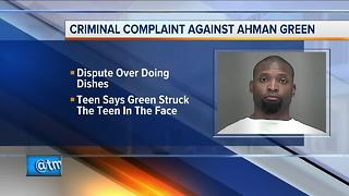 Former Packers running back Ahman Green facing child abuse charges - Video