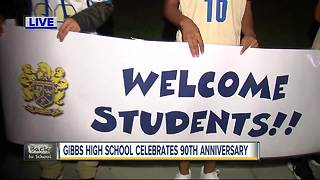 Gibbs High school celebrates 90th anniversary - Video