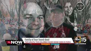 Family of four found dead in northern Arizona cabin