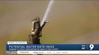 Potential water rate hike for unincorporated Pima County