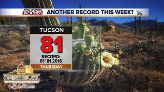Chief Meteorologist Erin Christiansen's KGUN 9 Forecast Tuesday, February 6, 2018