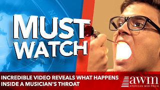 Incredible video reveals what happens inside a musician's throat - Video