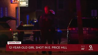 12-year-old girl shot while sitting in East Price Hill apartment