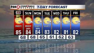 Warm and Humid Through the Weekend 11-10 - Video