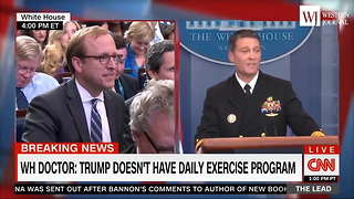 White House Doctor: There's a Simple Reason Why Trump Can Eat as Much McDonald's as He Wants (C) - Video
