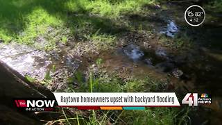 Raytown homeowners frustrated with flooding - Video