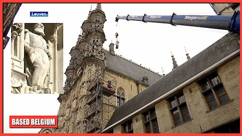 Belgian Socialist Party #Vooruit destroys our Heritage by removing 'Leopold II, The Great' Statues!
