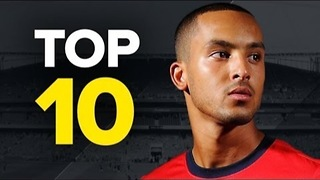 Top 10 Fastest Footballers - Video