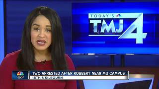 2 accused of robbing Marquette student on campus - Video
