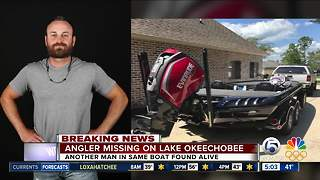 Florida fisherman goes missing during tournament on Lake Okeechobee - Video