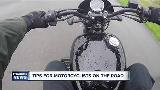 School focuses on motorcycle safety & awareness - Video