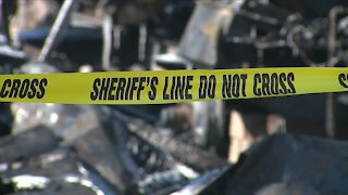 Adams County sheriff's deputies help rescue several people from burning homes
