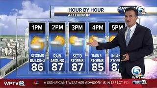 South Florida weather 6/10/18 - 6pm report - Video