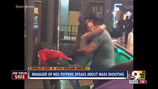 Ned Peppers manager recounts Dayton shooting