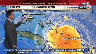 2 p.m. Friday Hurricane Irma update