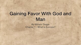 Chapter 1 - What is Success?