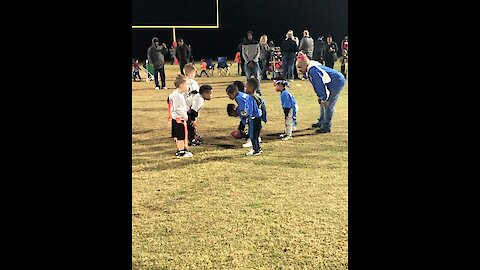 3-year-old's Beautiful Juke Move Results In Touchdown