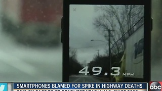 After years of decline, fatalities spike on America's highways. Could apps be to blame? - Video