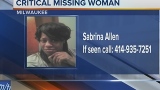Milwaukee Police looking for missing woman