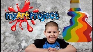 Noah Toys Review I House & Stars Art Project For School