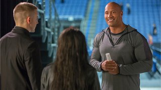 Dwayne Johnson Surprises Fans in Movie Theater