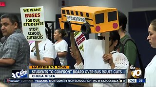 The Sweetwater Union High School District cut dozens of routes