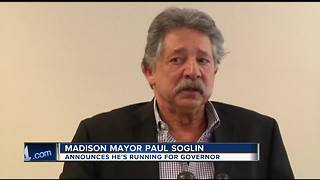 Madison Mayor Paul Soglin running for governor - Video
