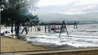 Destructive Kelowna flooding  - Video