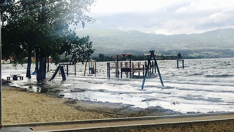 Destructive Kelowna flooding