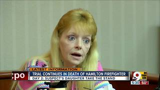 Daughter testifies against homeowner Lester Parker in firefighter Patrick Wolterman's death - Video