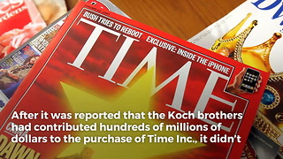 Koch Brothers Buy Time Magazine And Liberals Are Losing Their Minds - Video