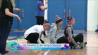 Students in Menomonee Falls hold their own Olympics - Video