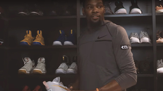 Kevin Durant Unveils NEW KD10 Shoes - Video