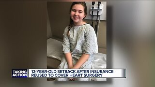 Taylor mom says insurance won't cover 12-year-old daughter's heart procedure