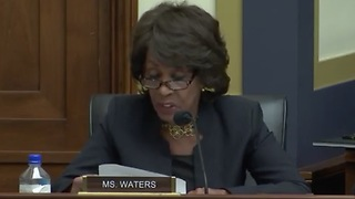 Maxine Waters Claims People On Internet Wants To Kill Her