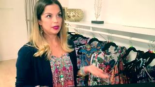 Bay Area fashion designer helping Irma victims | Digital Short - Video