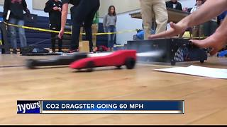 Boise Students race CO2 dragsters to learn about STEM - Video