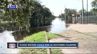 Flood waters could rise in southern counties - Video