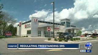 Free-standing ERs to be more upfront about pricing, types of care - Video