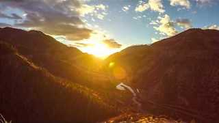4K UHD Time-Lapse of Logan Canyon Is a Sight to Behold - Video