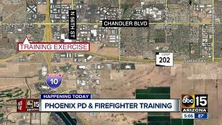 Phoenix Police and Firefighter training Saturday!
