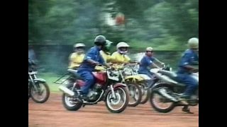 Motorcycle Soccer - Video