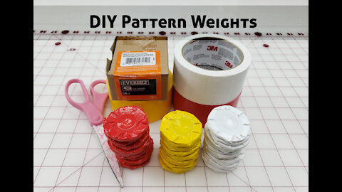 Super Easy DIY Pattern Weights for Sewing