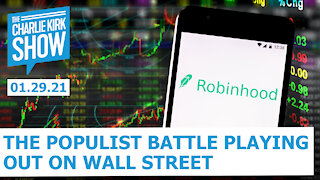 The Populist Battle Playing Out on Wall Street | The Charlie Kirk Show