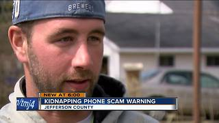 Jefferson Police Department warns about kidnapping phone scam - Video