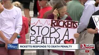 Anti-death penalty protesters gather in Lincoln - Video
