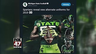 Spartan fans not thrilled about alternate jerseys